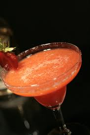 Frozen Real Strawberry Margarita