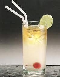 Tom Collins With Ginger Ale