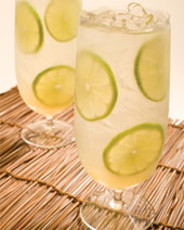 Honey Mule Caipirinha  recipe