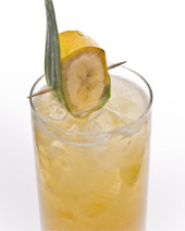 The Leblon And Banana Caipirinha  recipe